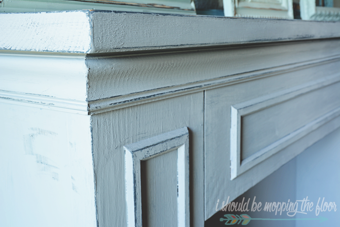 Annie Sloan Chalk Paint Fireplace Paris Grey