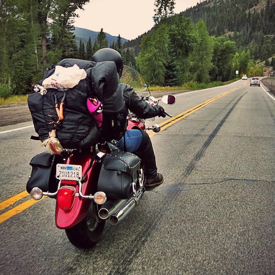 real-motorcycle-rider-woman