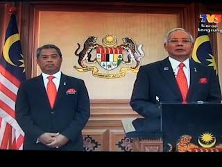 Pengumuman Parlimen Dibubarkan 3 April 2013