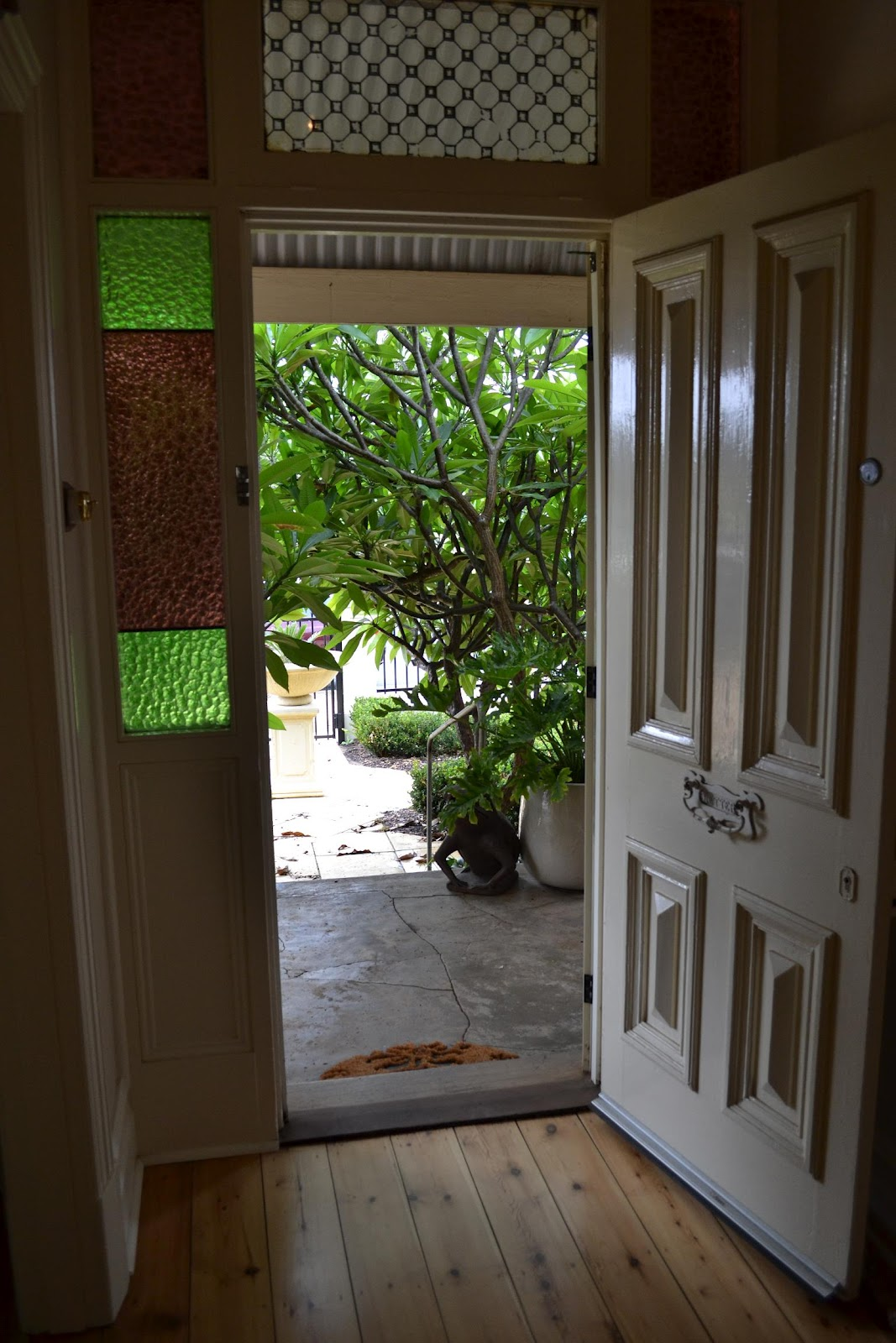 Open Front Door Welcome interesting open front door rear view of baby boy wearing nappy