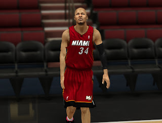 NBA 2K13 Miami Heat Jersey Patch Mod