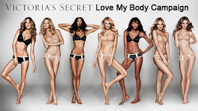 victoria's secret, love my body campaign