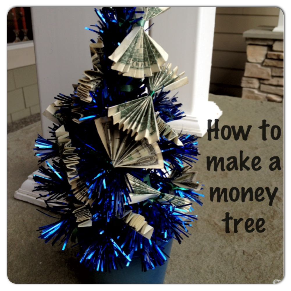 Recipe travel and family blog purple oven mitt how to make a how to make a money tree for a birthday gift or christmas gift negle Image collections
