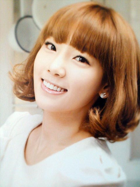 SNSD's Taeyeon short hairstyle New haircut