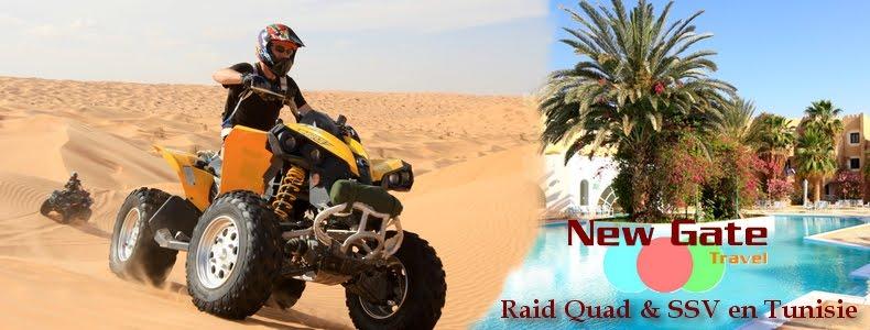 Raid quad Tunisie