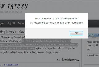 postingan tidak bisa di copy paste