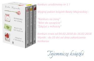 Tajemnicze książki rozdanie urodzinowe