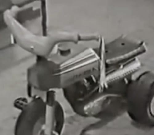 Propaganda da linha dos velocípedes da Trol, apresentada no final dos anos 60.