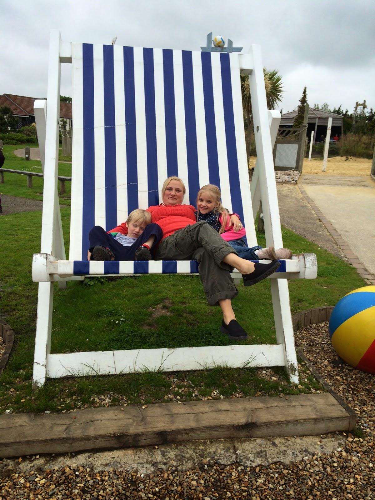 Butlin's Bognor giant deckchair madmumof7