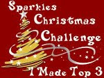 top3 chez Sparkles Christmas Challenge