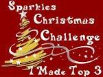 top3 chez Sparkles Christmas Challenge