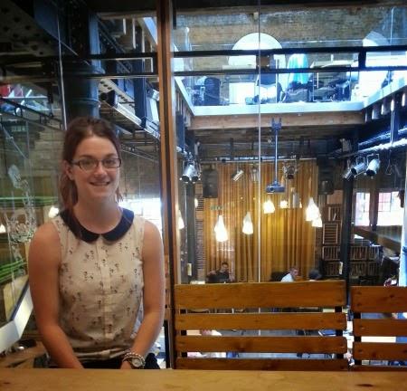 TWDK Physics intern Grace Mason-Jarrett