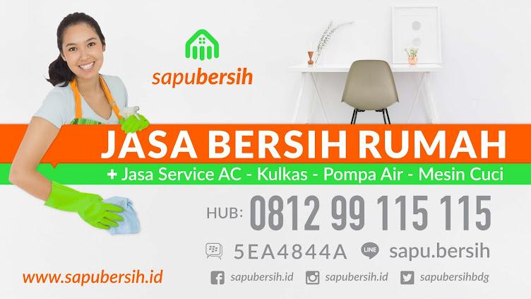 Jasa bersih rumah Bandung 0812 99 115 115 SapuBersih