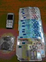 Σύλληψη αλλοδαπού για κατοχή ναρκωτικών ουσιών