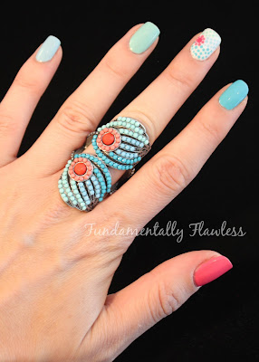 Fundamentally Flawless Ringspiration nails