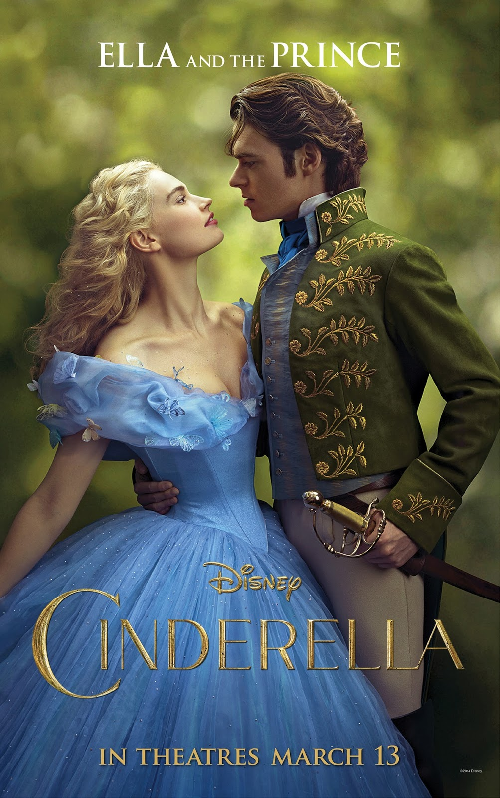 Disney's Cinderella (2015) Movie Poster