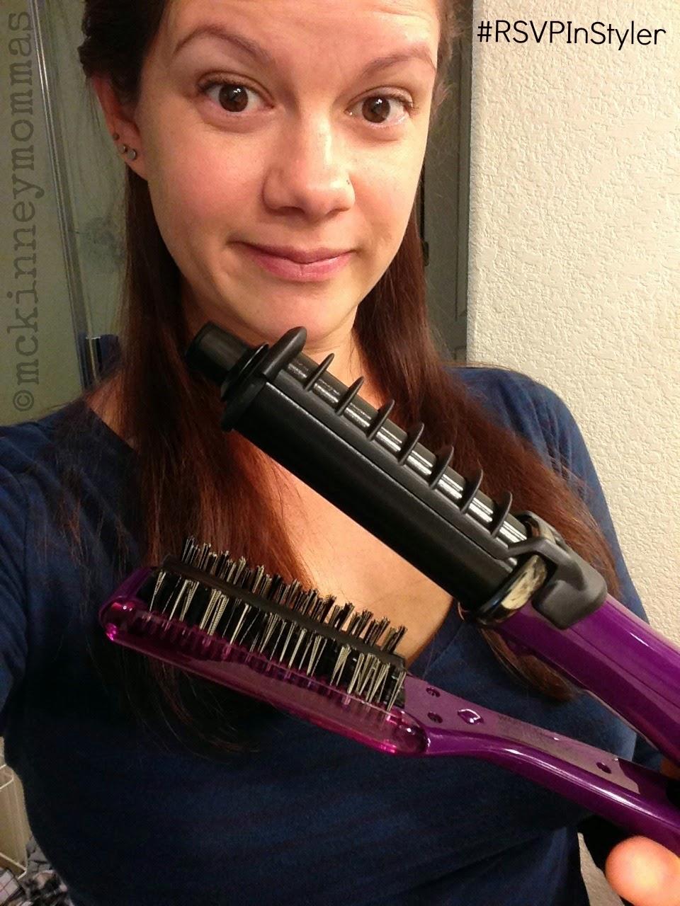 Max 2-way Rotating Rion, hair styling tools