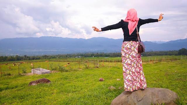 Ini Dia Keindahan New Zealand Versi Padang Mangateh Sumatera Barat