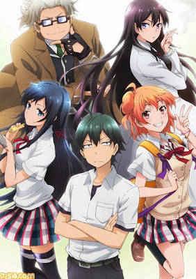 yahari ore seishun love come machigatteiru segunda temporada anime anuncio