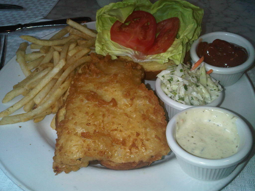 Jersey foodies sea catch restaurant washington dc old for Fried fish sandwich near me
