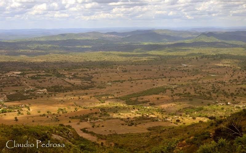 Umas das planícies que podemos ver da Serra