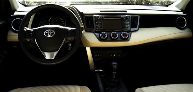 2013 Toyota RAV4 LE Beige Interior