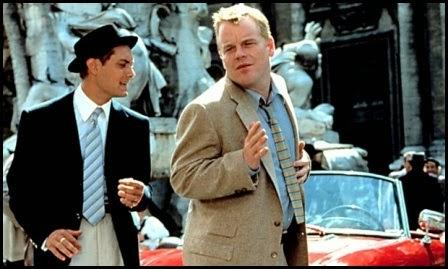 Philip Seymour Hoffman en El talento de Mr. Ripley