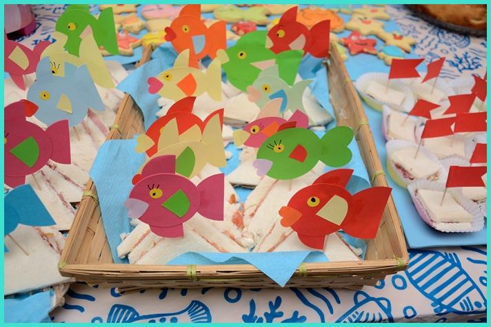 Studiamando liberamente decorazioni estive pesciolini di for Decorazioni torte tema mare