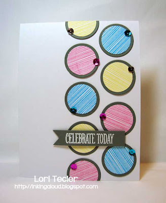 Celebrate Today-designed by Lori Tecler-Inking Aloud-stamps from Papertrey Ink