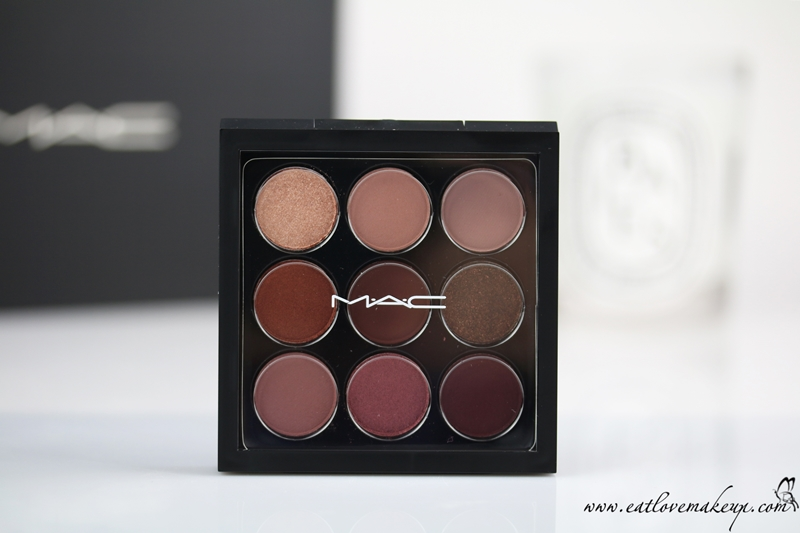 MAC Eye Shadow X 9: Burgundy Times Nine