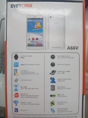 Harga Dan Spesifikasi Evercoss A66V