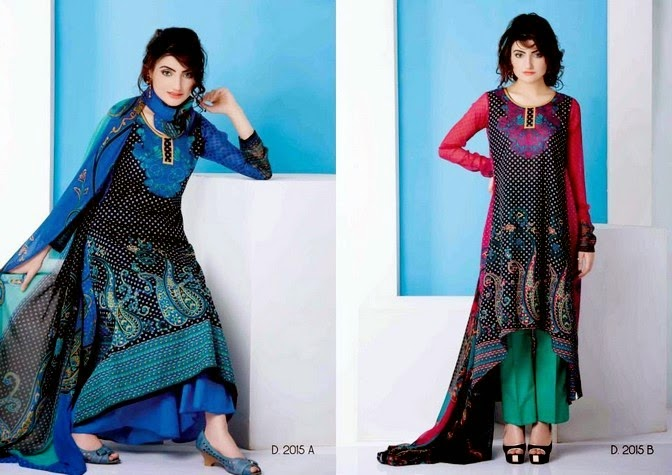 Printed Lawn Dresses by Sitara