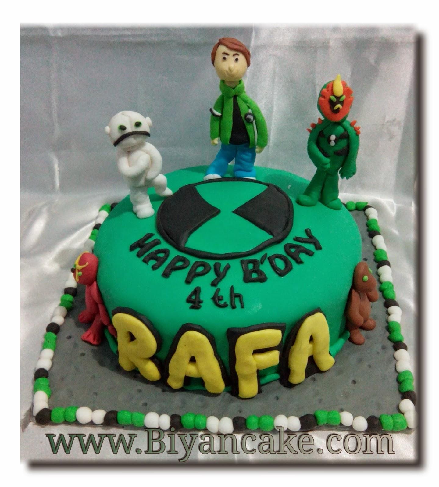 Kue tart ben10 biyan cake jual kue tart di bekasi kue tart ben10 rafa voltagebd Image collections