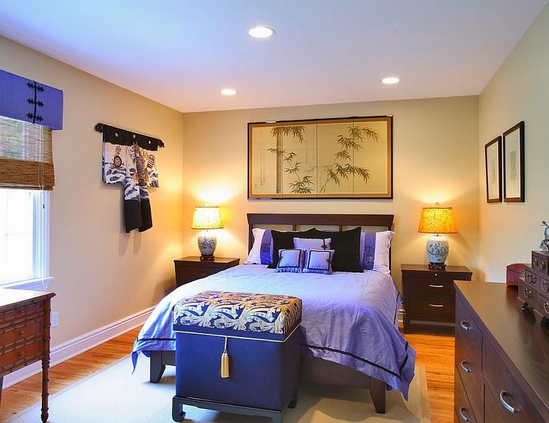 Dormitorios con Estilo e Inspiración Asiática by artesydisenos.blogspot.com