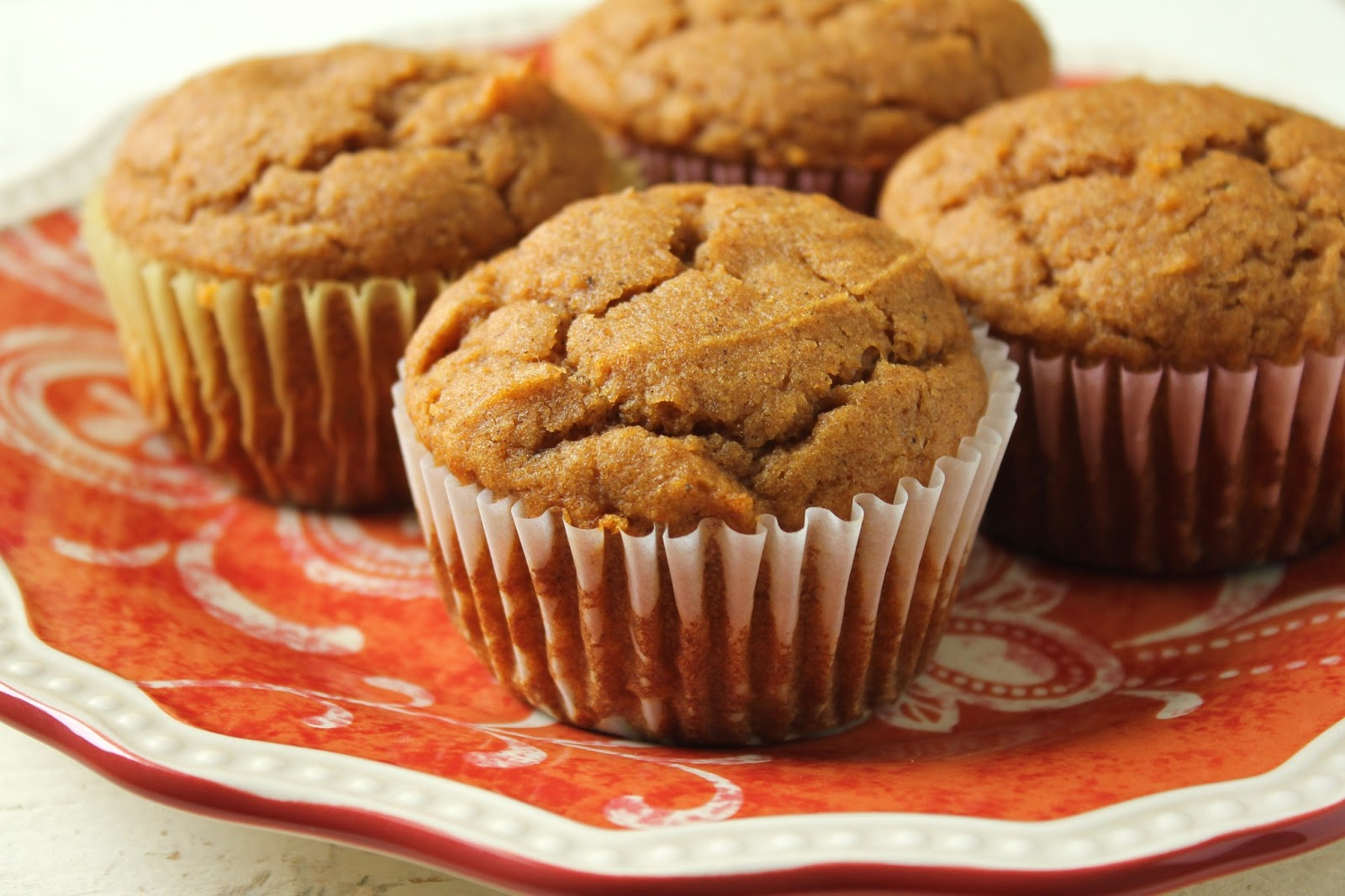 Delicious as it Looks: Low-Fructose Sorghum Pumpkin Muffins