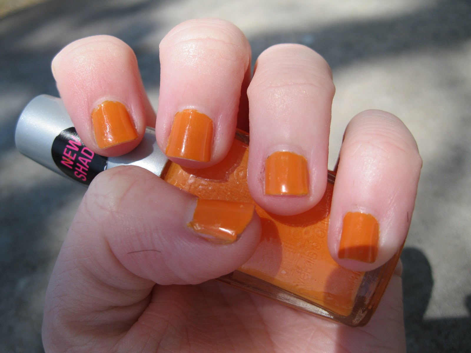 Trinity Designs: Nail Swatch: Sunny Side Up by Wet n' Wild Wild Shine ...