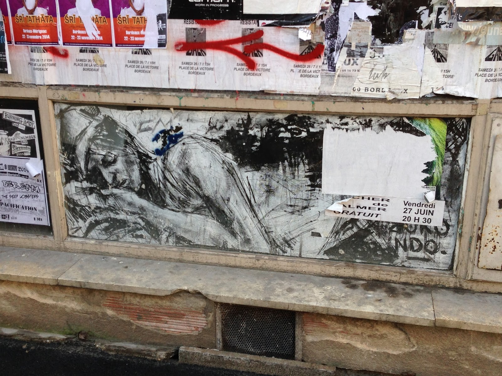 Bordeaux Street Art Borondo