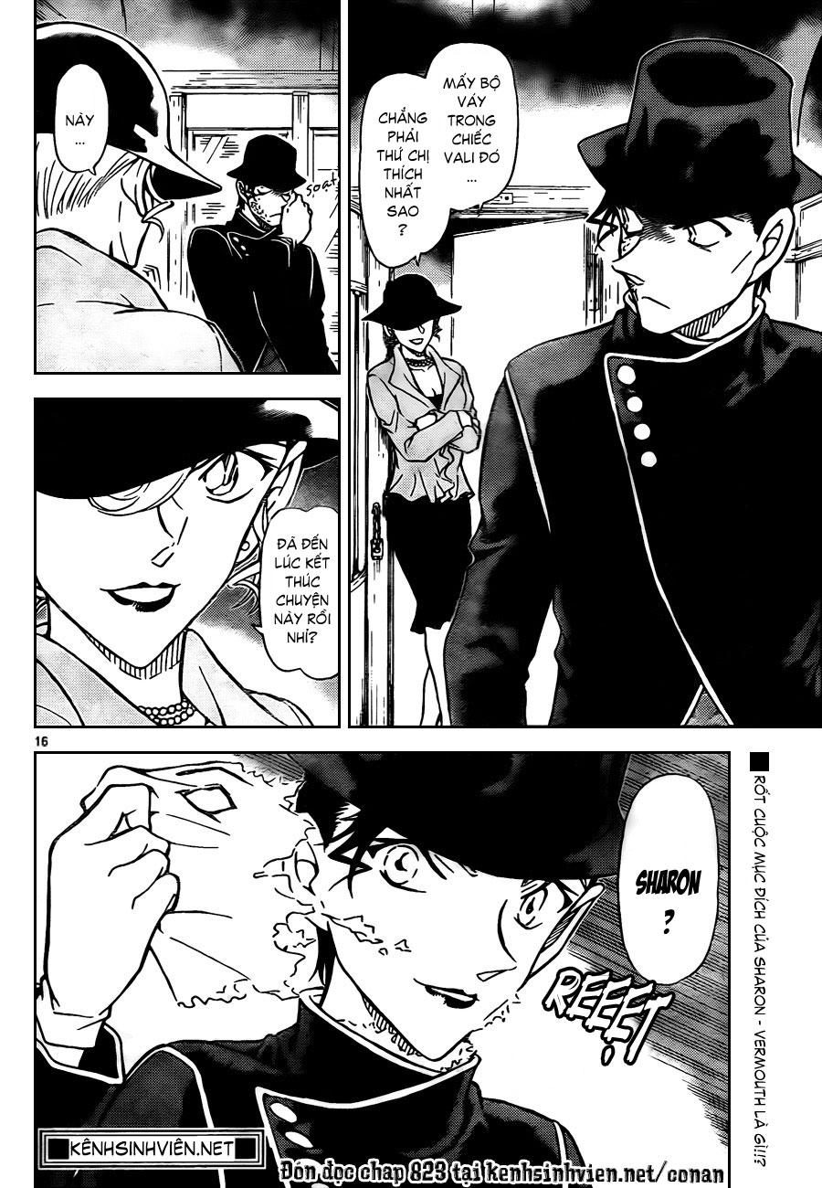 Thám Tử Lừng Danh Conan - Chapter 822 - Pic 17