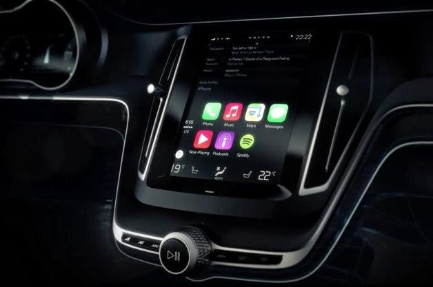 Carros começaram a oferecer suporte a funções do iPhone no painel