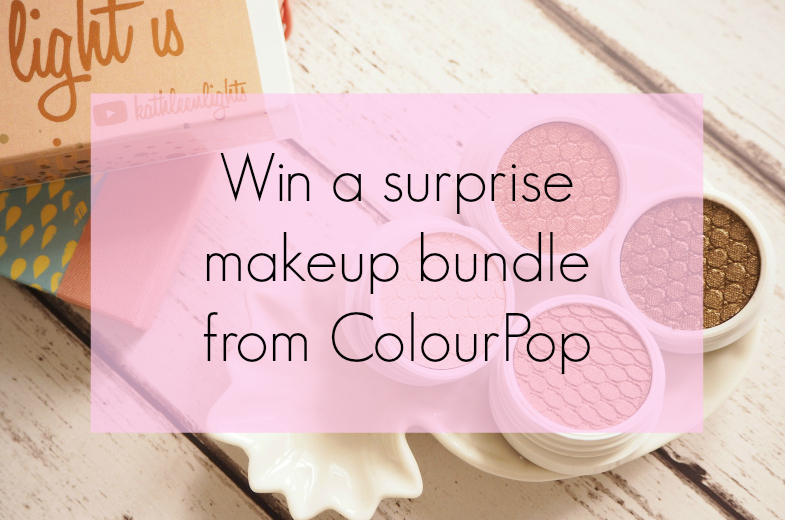 Colourpop makeup giveaway