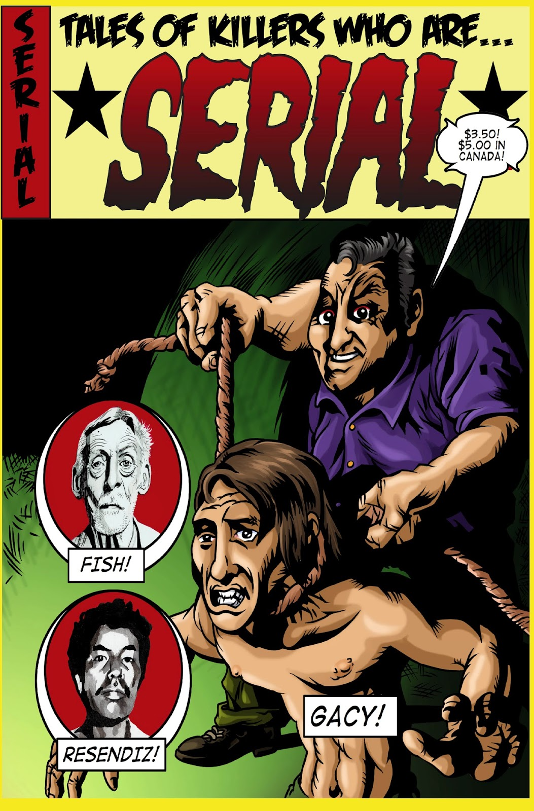 a discussion of the issue of serial killers