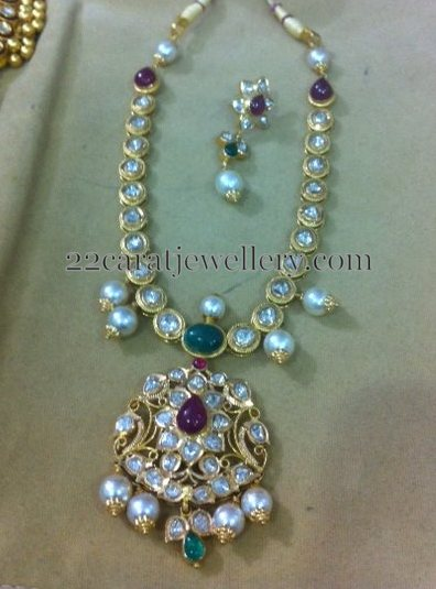 Pachi Necklace with Pota Rubies