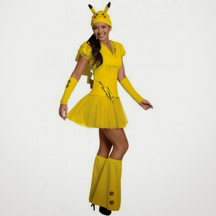 Disfraz Pikachu Pokemon chica