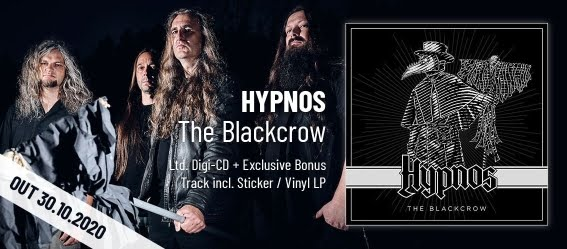 "New album of Czech death metal band HYPNOS - ""The Blackcrow"" (2020)"