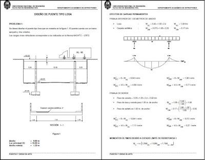 Diseño de puente tipo losa