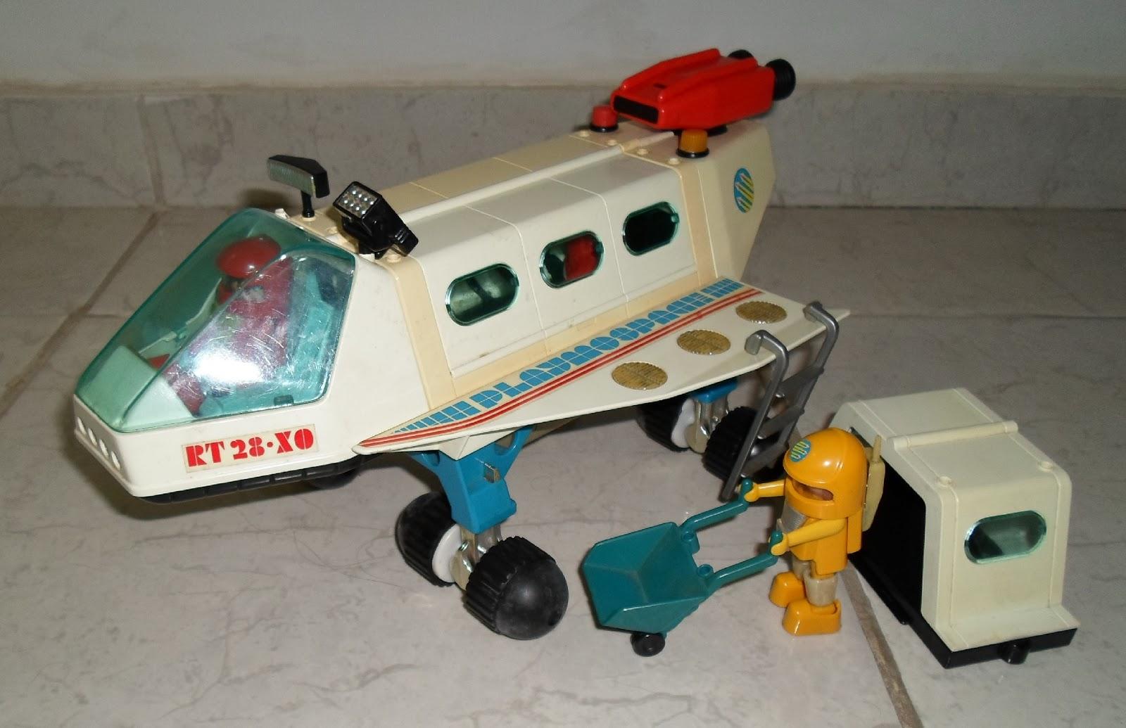 Menino engenheiro old toys nibus espacial playmobil for Nave espacial playmobil