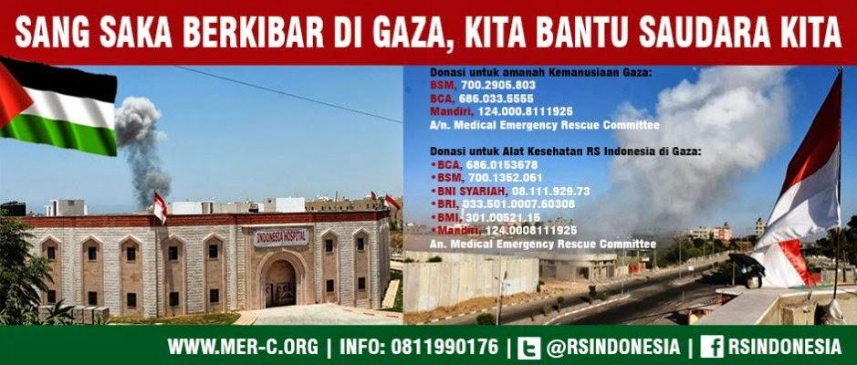 Bantu Sodara Kita di Gaza