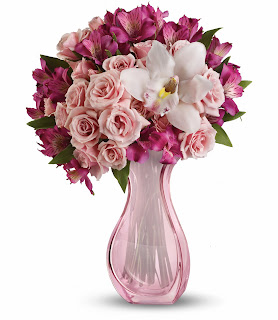 Order The Faith Hill Fire and Pink Bouquet by Teleflora for Mothers Day