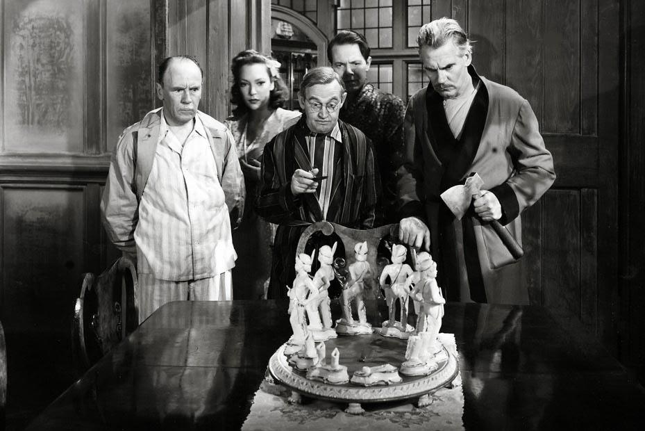Risultati immagini per dieci piccoli indiani film 1945
