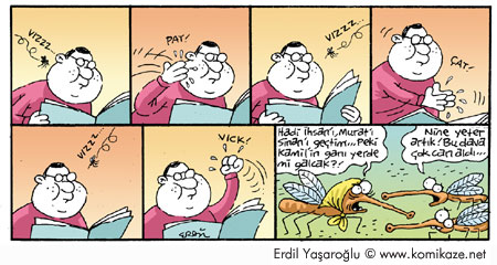 Sivrisinek Karikatür